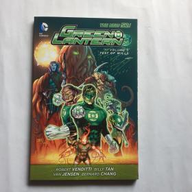 绿灯侠 意志的考验 英文原版漫画 GREEN LANTERN VOL. 5 Test of wills 新52区 DC漫画