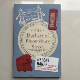 英文原版  重返查令十字街84号 The Duchess of Bloomsbury Street-