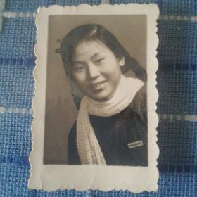 四川省成都铁路学校(有校徽)美女老照片,文革语录美女照片少见