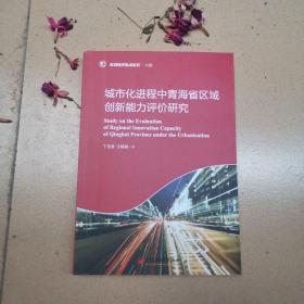 区域经济热点系列 城市化进程中青海省区域创新能力评价研究