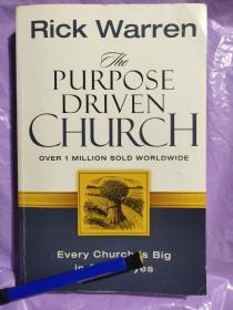The purpose driven church 英文原版 大32开