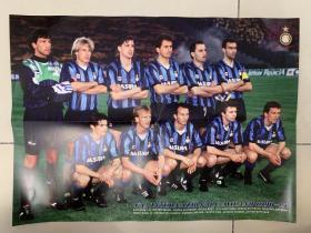 足球海报 1991联盟杯冠军国际米兰