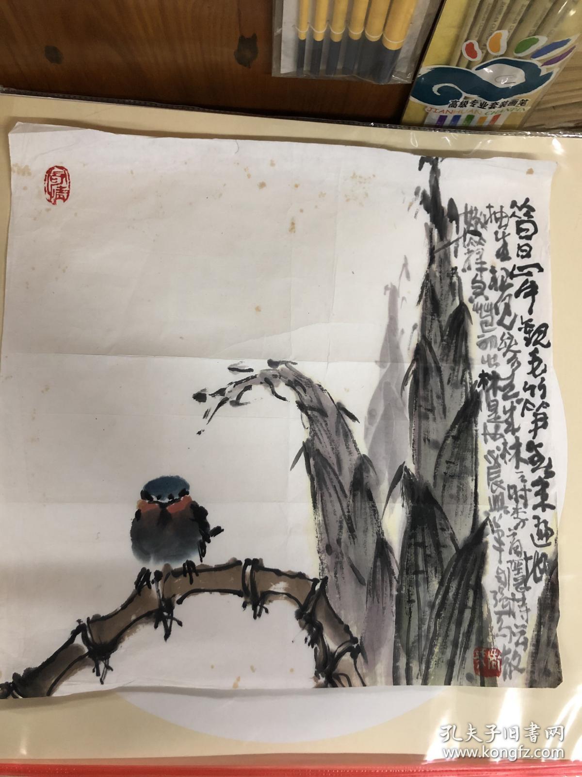 巳故著名画家马自强老师精美小品7
