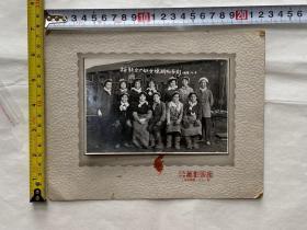 1958裕新分厂妇女煉队合影