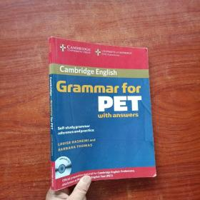 Cambridge Grammar for PET Book with Answers and Audio (无光盘)