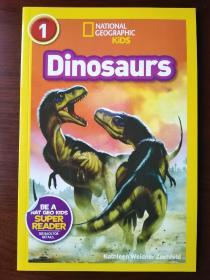 National Geographic Readers: Dinosaurs[国家地理阅读:恐龙] 【正版全新】