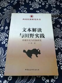 西北民族研究丛书·文本解读与田野实践:新疆历史与民族研究