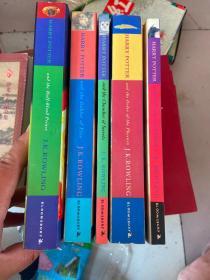 哈利波特 英文版 Harry Potter and the Half-Blood Prince(5册)