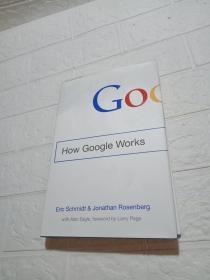 How Google Works(精装 16开 书上边有着水,品看图)