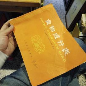 食物成分表   中国医学科学院卫生研究所  人民卫生出版社