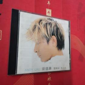 刘德华《爱无知天人水》CD,碟片品好轻微使用痕。