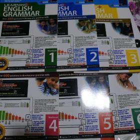 SAP Learning Grammar workbook 1 -6 小学生英语语法学习 新加坡小学语法英语教辅教材