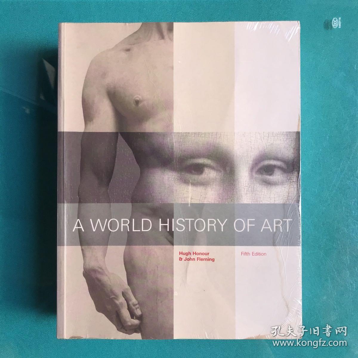 A WORLD HISTORY OF ART(大量插图 英文原版 大16开)(塑封9品,仅封面角有点如图水渍,内完好)