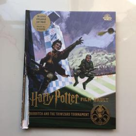 Harry Potter: Film Vault: Volume 7: Quidditch and the Triwizard Tournament  封面书脊出破损  内页全新  见图   介意勿拍   精装
