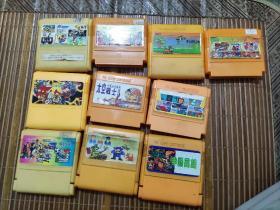 游戏卡带10盘合售