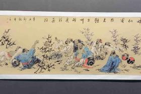 中国美术家协会会员、著名画家王艺千(原名王健)廊坊人,(籍贯河南周口)1958年11月生。现居北京。中美协会员、中国水墨研究院院士、北京南海画院特聘画家、中国三峡画院一级美术师。师从著名画家李世南先生;2007年、2013年进中国美协人物画创作高研班和现代工笔画院学习,得张道兴、王天胜、袁武、陈钰铭、梅启林等名家亲授。作品多次入选中国美协举办的全国性大展并获奖  作于2021国庆节 作品已手工装裱