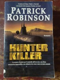 Hunter Killer 意大利语原版大32开