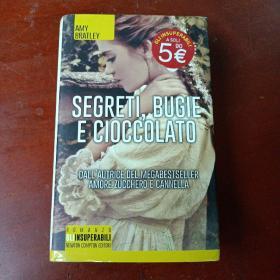 《SEGRETI,  BUGIE  E  CIOCCOLATO》(秘密,谎言和巧克力)精装,36开本