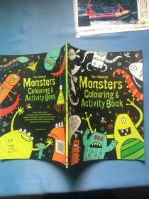 The Usborne Monsters Colouring & Activity Book