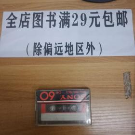 6外15B 磁带   SONY CHF 60