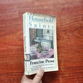 HOUSEHOIDSAlNTS FRANCINE PROSE