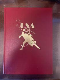 世界杯足球画册 1994原版osb风格世界杯画册 world cup赛后特刊包邮快递