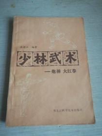 少林武术——炮捶 大红拳