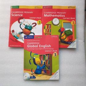 Cambridge Primary Mathematics3(3本合售)详情如图