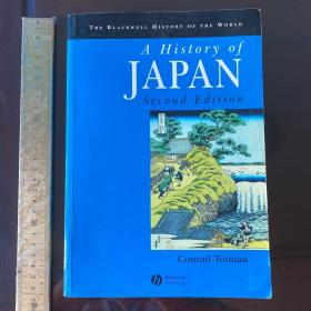 A history of Japan Japanese history empire rise and fall of Japan 日本史 英文原版 厚本 超重