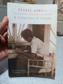 1981年,英文原版,平装版,奥维尔作品散文集,George Orwell,a collection of essays,具体看图