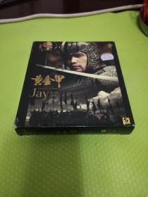 CD+DVD  周杰伦 黄金甲