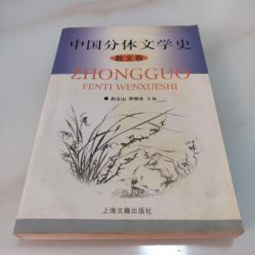 中国分体文学史