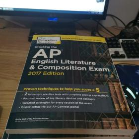 Cracking the AP English Literature & Composition exam 2017 edition