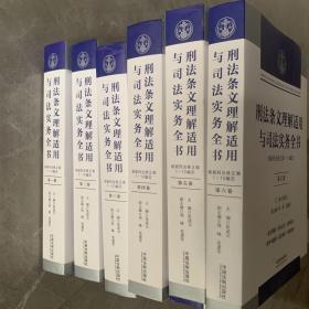 刑法条文理解适用与司法实务全书(六卷本)