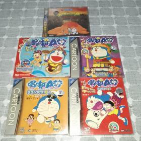 哆啦A梦VCD(5盒合售)全新未拆封,值得收藏