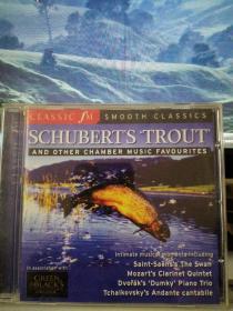 舒伯特《鳟鱼》/圣桑《天鹅》等【原版进口CD】