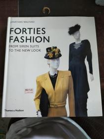 Forties Fashion:From Siren Suits to the New Look        四十年代时尚:从警笛套装到新造型 英文原版