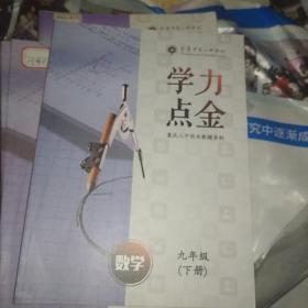 重庆八中校本教辅资料:学力点金 数学 九年级下册(书新题未做)