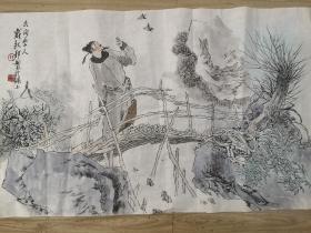 上海著名画家戴敦邦人物作品!