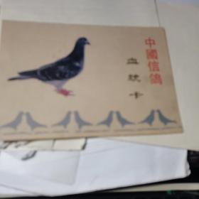 中国信鸽血统卡 空白