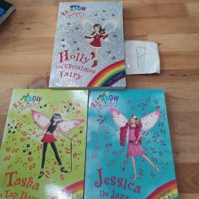 DAISY MEADOWS:HOLLY THE CHRISTMAS FAIRY/TASHA THE TAP DANCE FAIRY53/JESSICA THE JAZZ FAIRY54(3本合售)