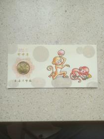 礼品卡甲申年 上海造币厂