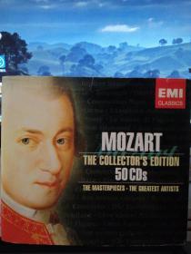 莫扎特作品集(环保装 50CD)【原版进口】