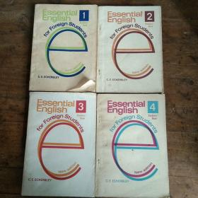 Essential English for Foreign Students Book (学生用基础英语四册)