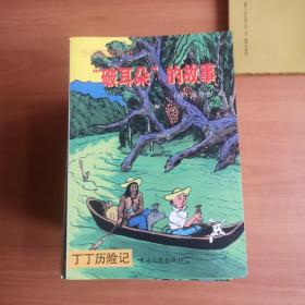 外国漫画丛书  丁丁历险记(98年6月一版一印)22册合售  品佳如图