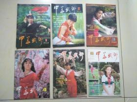 中华武术1984年(1~6)全