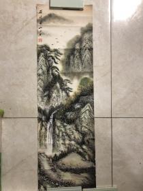 画家 佘德林  山水画一副3