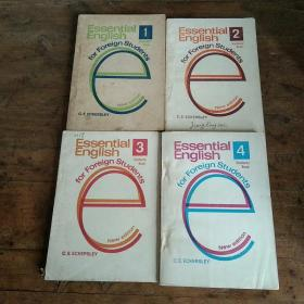 Essential English for Foreign Students Book (学生用基础英语四册)....