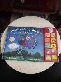 Room on the Broom 精装带电池的发音书 Julia Donaldson 英文原版绘本!【发声完好!】