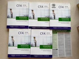 CFA2018 exam prep level 1 book1-5带一张知识卡